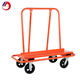 Drywall Dolly cart orange steel trolly