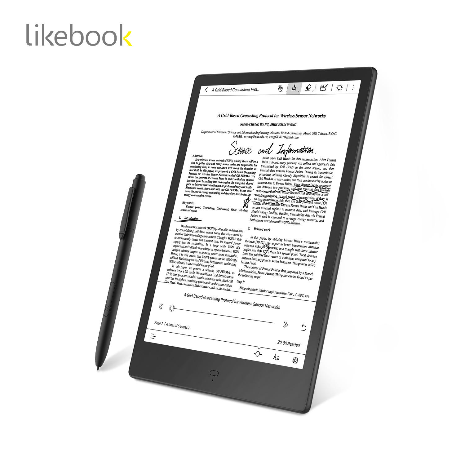 Best Quality protect eyes 10.3 inch eink display 4G e-book reader E book E Reader