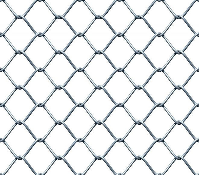 3.0mm galvanized chain link fence/pvc coated chain link wire mesh rolls
