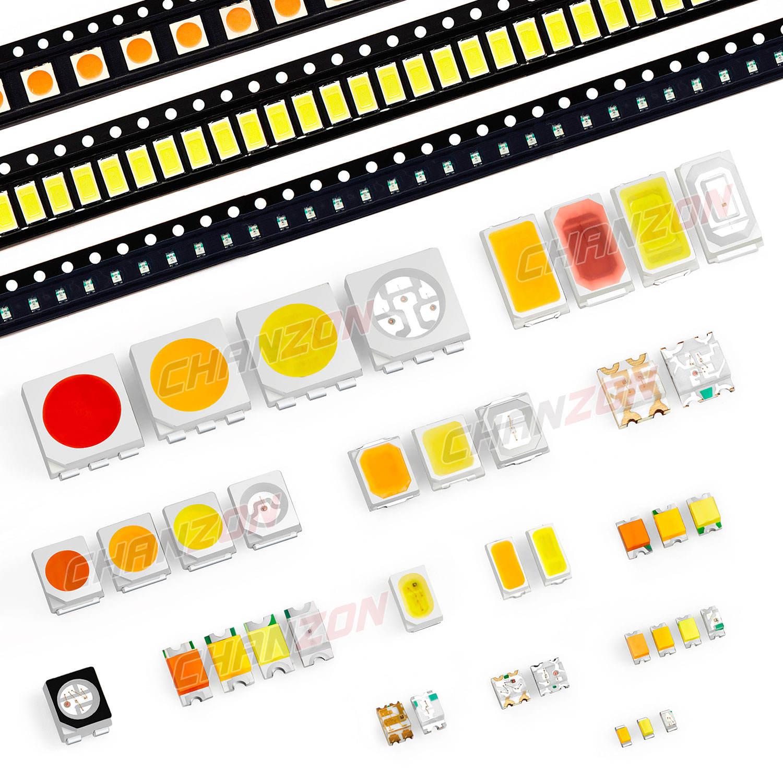 white red blue yellow orange green smd led 0603//0805//1206 light emitting diode