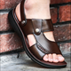 zm40248k Summer men sandals genuine leather plus size sandals shoes slippers for man