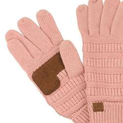 Unisex Wool Knit Gloves Winter Ladies Long Gloves Women's Soft Mittens Man Plus Velvet Thicken Warm