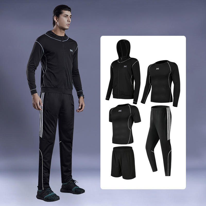 Custom Brand Wholesale Custom Men Fitness Yoga Wear Running Sportswear Gym Sweat Suits