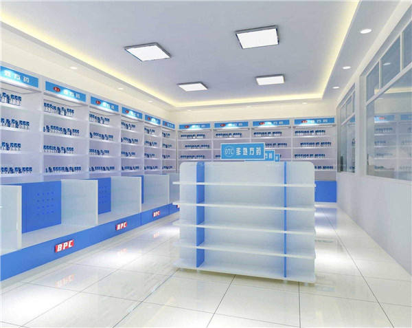 Modern design pharmacy shop design furniture decoration, retail pharmacy shop interior design*