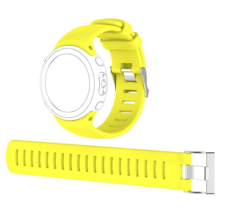 High Quality Silicone Replacement Watch Band Watch Strap Wristband For Suunto D4 D4i Novo Dive Computer Watch