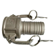 Stainless steel type C hose shank camlock coupling