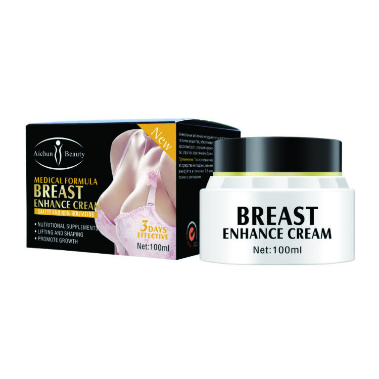 Daily use massage breast enlargement tightening firming enhancement lift enhancement growth cream for women shape body