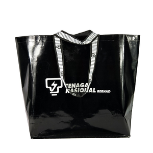 Hot selling bolsas ecologicasl Cheap Fashion pp woven shopping boat bag with logo