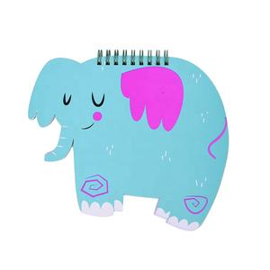 Cartoon elephant pocket notebook with words creative portable small notebook portable notebook