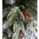 2020 New Christmas Decoration Ornament Snow Spray Christmas Tree With White Branch