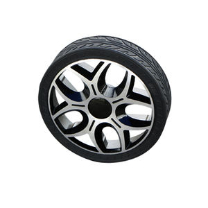 180mm diameter Solid rubber load-bearing active wheel intelligent small wheel unmanned vehicle AGV, no inflation