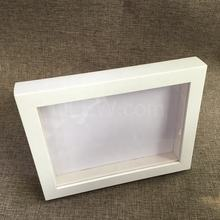 Luxury 3D shadow box photo frame colors picture frame