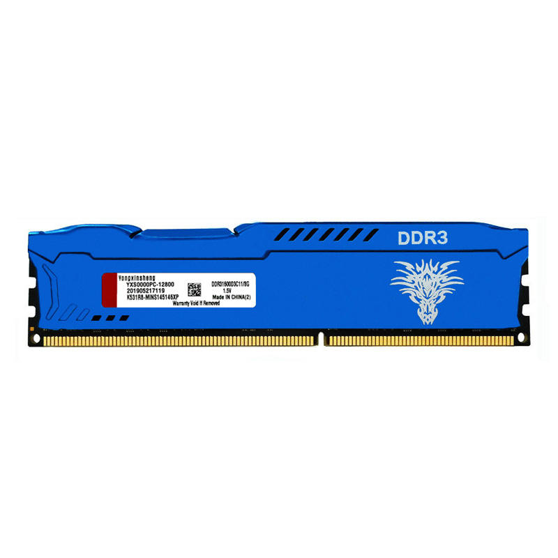 DDR3 4GB 8GB 1600MHz PC3-12800 240Pin CL11 DIMM Desktop Computer Cooling Vest Memory 1.5V RAM Computer <span class=keywords><strong>teile</strong></span> memoria US lager
