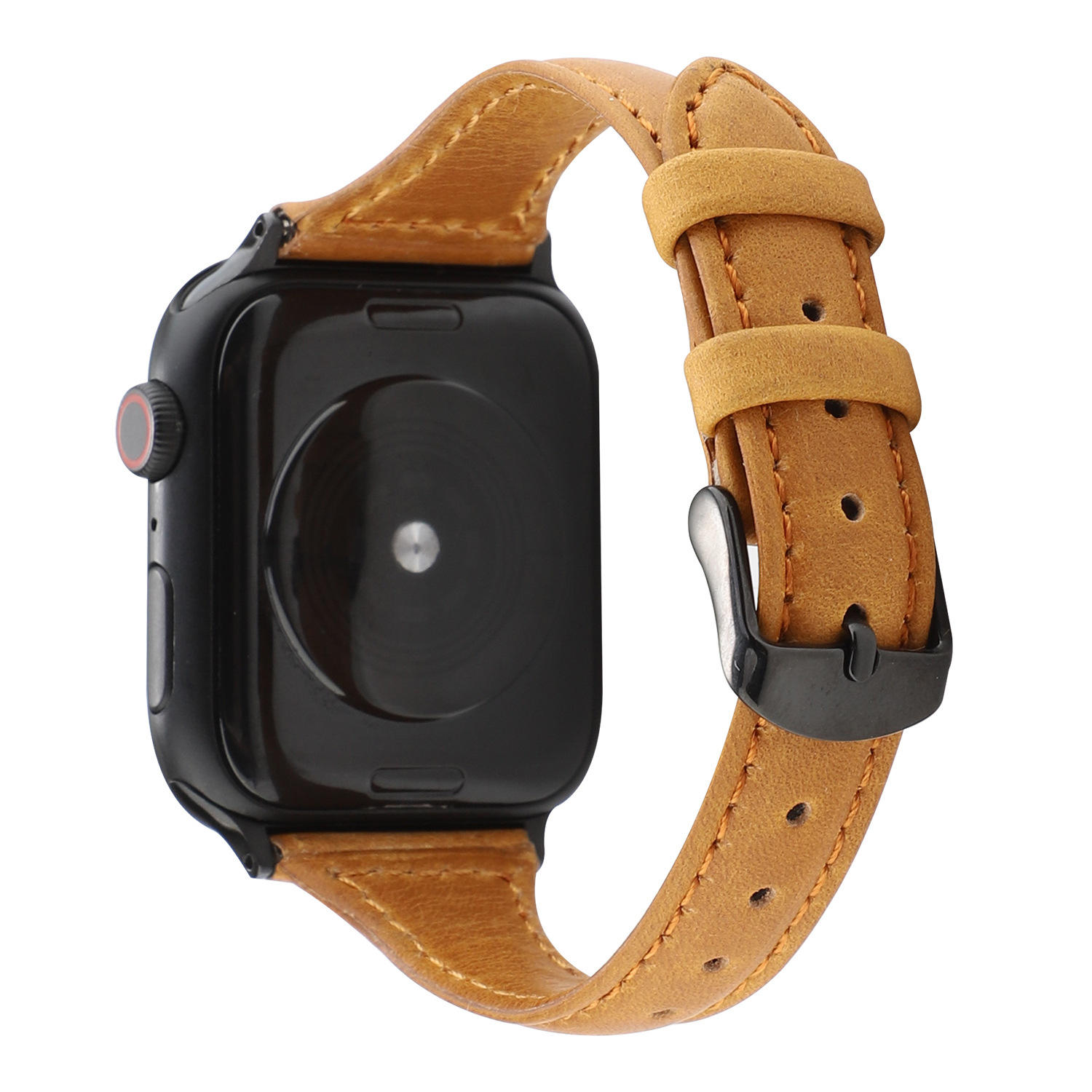 Crazy Horse Watch Band Leather For Apple Watch Band Bracelet Series 5