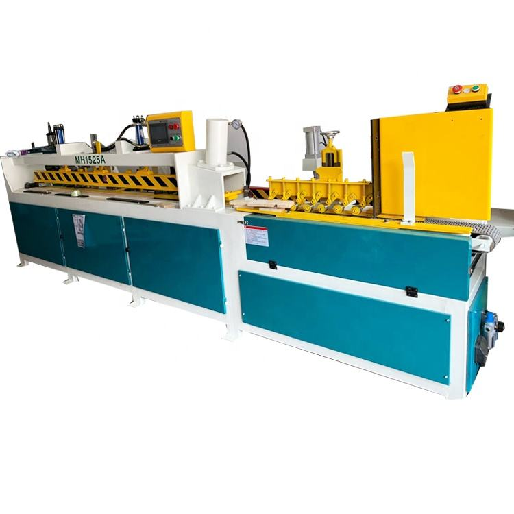 China woodworking high efficient 2500mm working length full automatic finger joint assembler machine