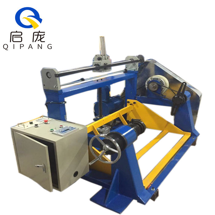 QIPANG Advanced Cable Rewinding Machine QP-630 Coil Spooling Machine Manual Electric Lift Rope Coil Winding Machine