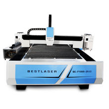 500W Optical fiber bar die coil circle  sheet metal lazer cutting machine