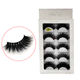 Thick [ False Wispy Eyelashes ] False Lashes Wispy Vegan Black Natural Thick Long Full Reusable Fake Eyelashes Chemical Fiber Eyelashes