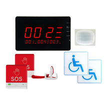 MEEYI Disabled Persons Toilet Alarm Kits Handicap Emergency Call System