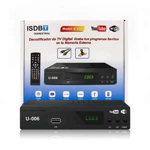 Best Selling OEM ISDB-T Digital TV Tuner Decoder FTA TV Receiver Set Top Box