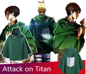 ZIXIANNIU Attack on Titan Cloak Halloween Cosplay Cloak