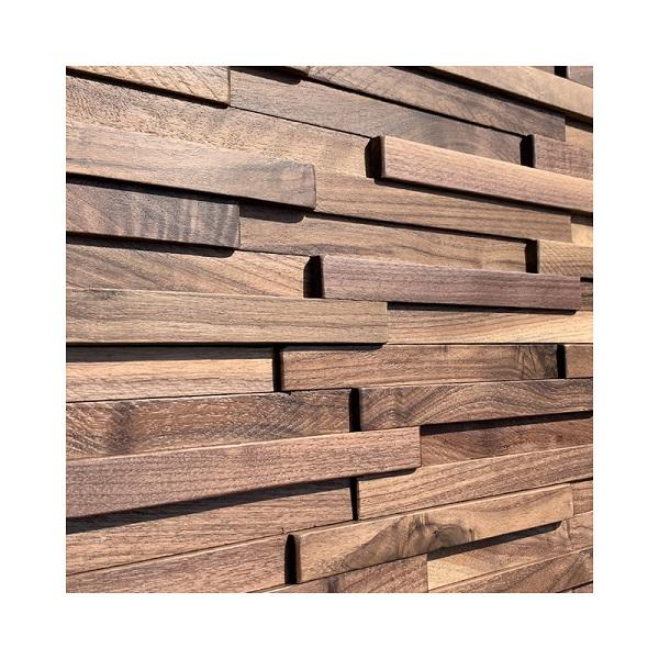 Black Walnut Background North American Classic Southeast Industrial Style Decoration Materials 3D Wood Wall paneling