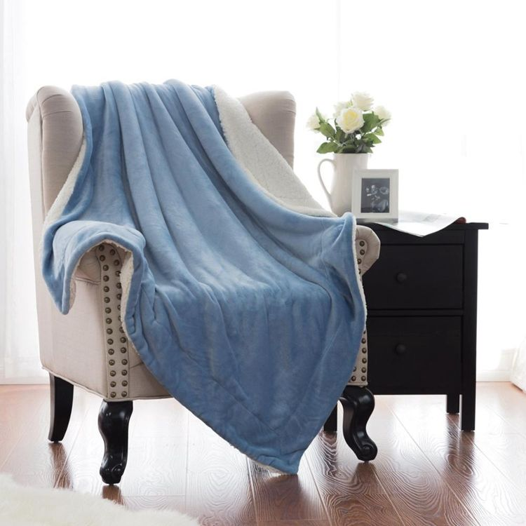 China Cheap Wholesale polyester mexican imports raschel blanket for winter