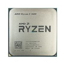 For 2600 R5 2600 3.4 GHz Six-Core Twelve-Core 65W CPU Processor YD2600BBM6IAF Socket AM4 Used