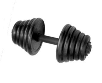 Factory - made cast iron dumbbell with all kinds of surface treatment