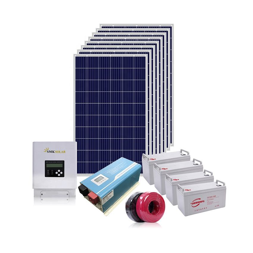 whole set solar power system home 1kw 3kw 5kw 10kw 20kw 30kw 50kw
