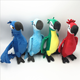 custom Cartoon Rio lifelike parrot plush toy for gifts furnishing articles