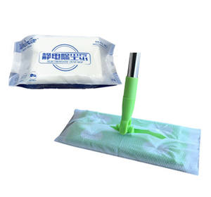 Refill Mop Cloth Non-woven Disposable Electrostatic Dust Cloth for Foldable Mop 30PCS/BAG