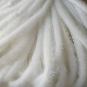 Factory direct supply good price real fur collar women strips mink fur for clothing accessories