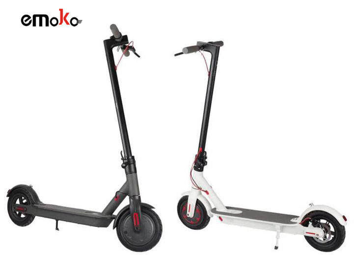 2020 Hot Sale Pro Display 350W Folding Electric Scooter 36V Aluminum Alloy 36V 7.5Ah Battery Max Speed 25km/h