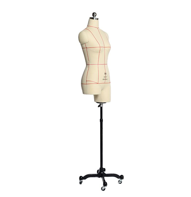 tailoring with shoulder adjustable Chinese factory outlet Cent leg with line fashion display dress form mannequin