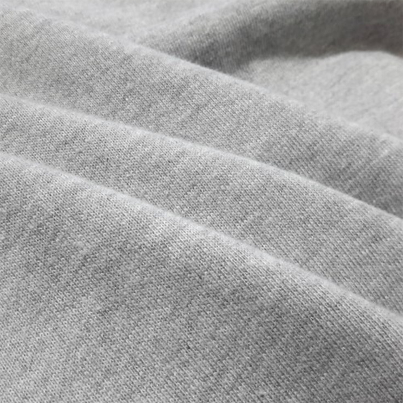 100% Cotton 32S Knitted French Terry Fabric For Sweater And Sportswear