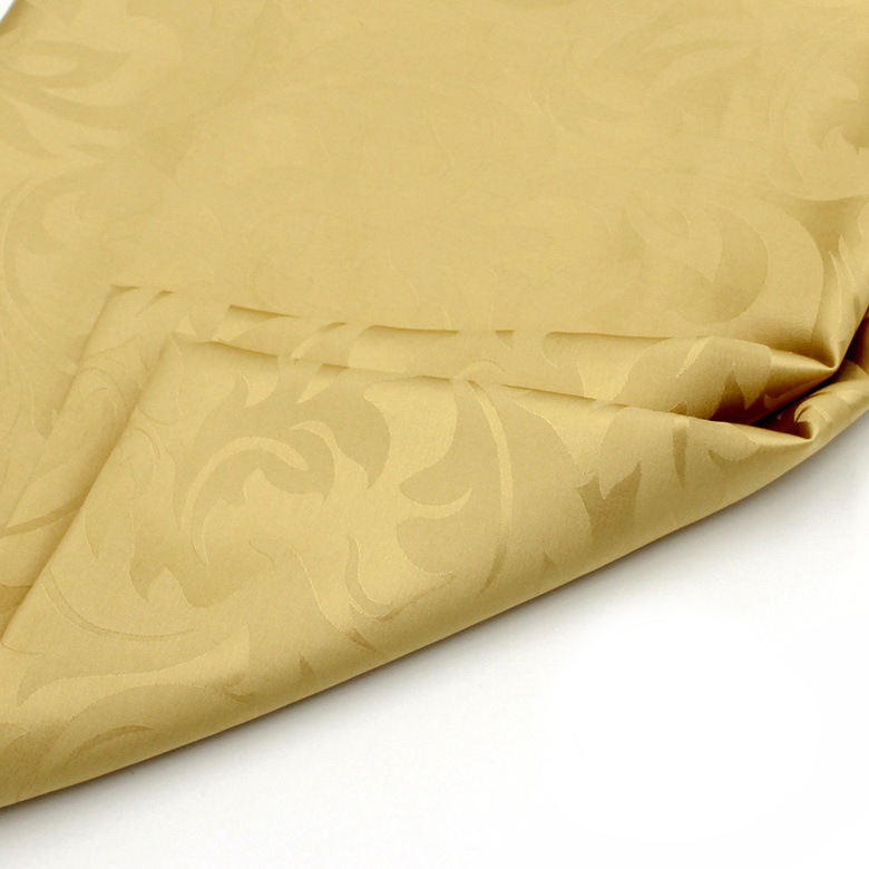 chinese traditional smooth satin georgette silk brocade hot stamping jacquard fabric 100%