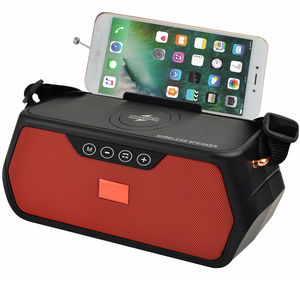 2020 Newest FM radio speaker wireless stereo outdoor speaker with mobile charge