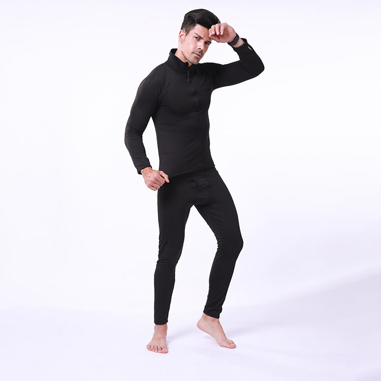 O-neck Outdoor Athletics Sports Long Sleeves t-shirt Winter Clothing men's Thermal Underwear