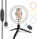 10 inches/26cm Outer 55W 5500K Camera Photo Video Led Ring Light Selfie With Tripod Stand