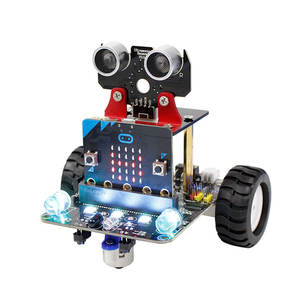Yahboom Hot Sale BBC Micro:bit Programable Smart Microbit BBC DIY Robot Car Kit For Microbit As Gift