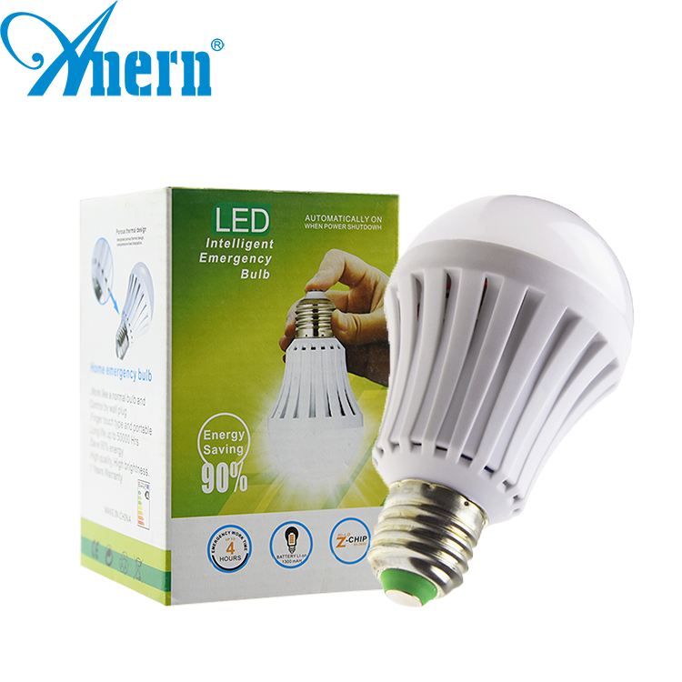 2 years warranty 5w rechargeable led home emergency light