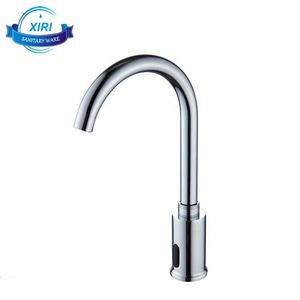 DUAL-POWER Automatic Sensor Faucet Touch Free Kitchen Bathroom Sink Tap, Chrome