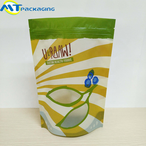 hot sale custom printed food packaging zipper doypack pouch