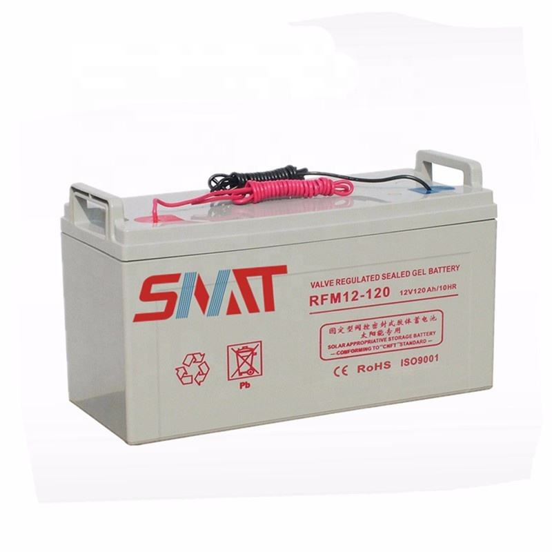 SNADI SNAT 10 years life solar energy storage gel battery 12v 24 ah-200 ah active polymer gel battery