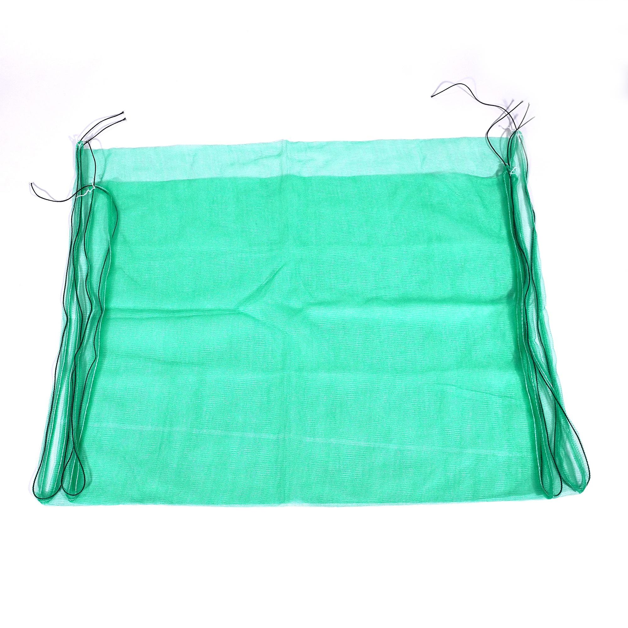 China factory 70x90cm 80x100cm green dates fruit packaging hdpe monofilament mesh bag palm date bag