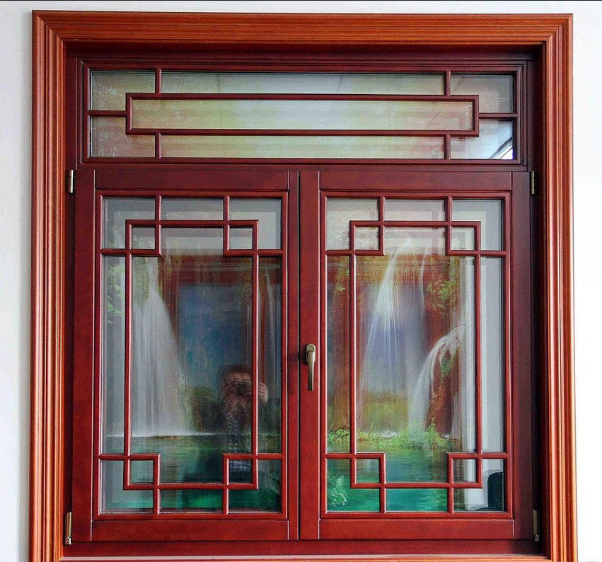 alu-wood window and door teak wood main window designs wood window frame