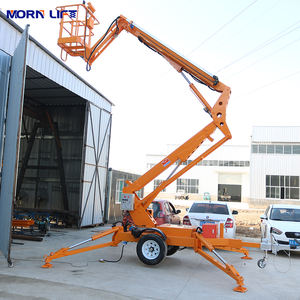 12m Hydraulic Mobile Trailer Mounted Towable Boom Lift
