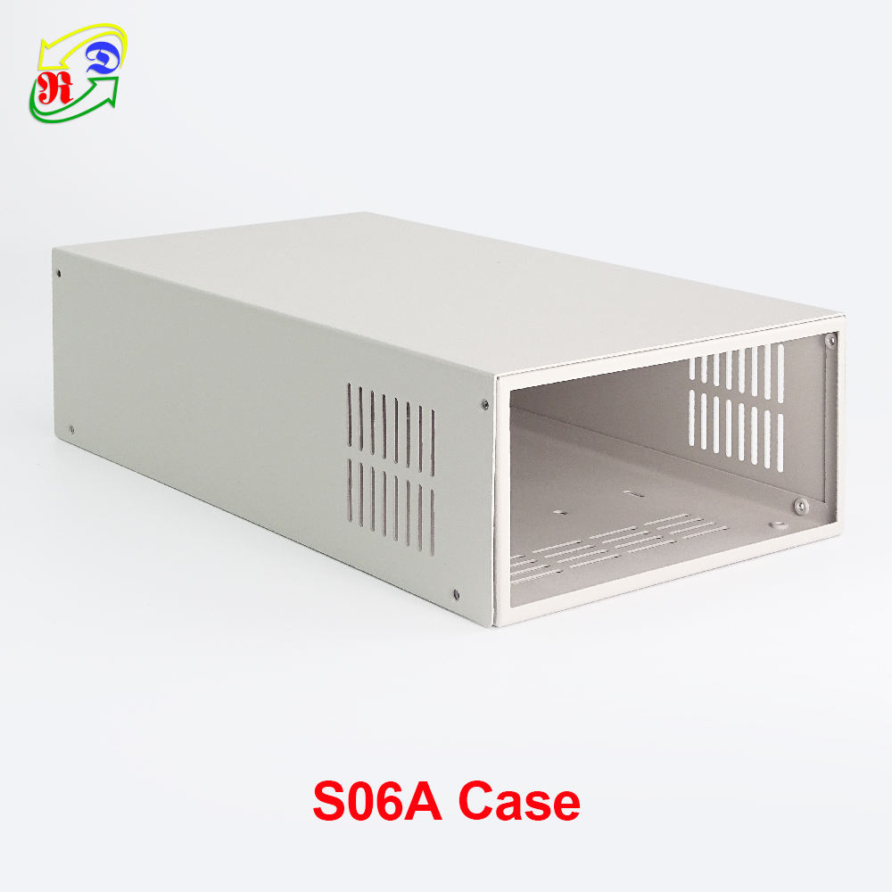 Digital power supply case S06A for RD6006 RD6006W voltage converter only metal housing shell not contain power supply