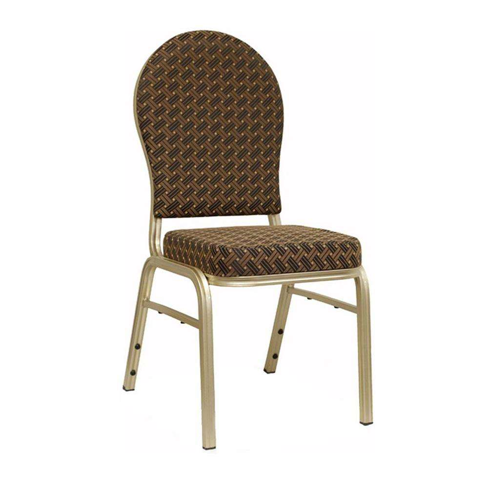 Cheap Price Steel Hotel Furniture Dining High Quality Gold Aluminum Used Hotel Wholesale Stackable Banquet Chair